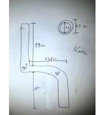 Durite radiateur VW Caddy 1.9 TDI 105cv suppression EGR