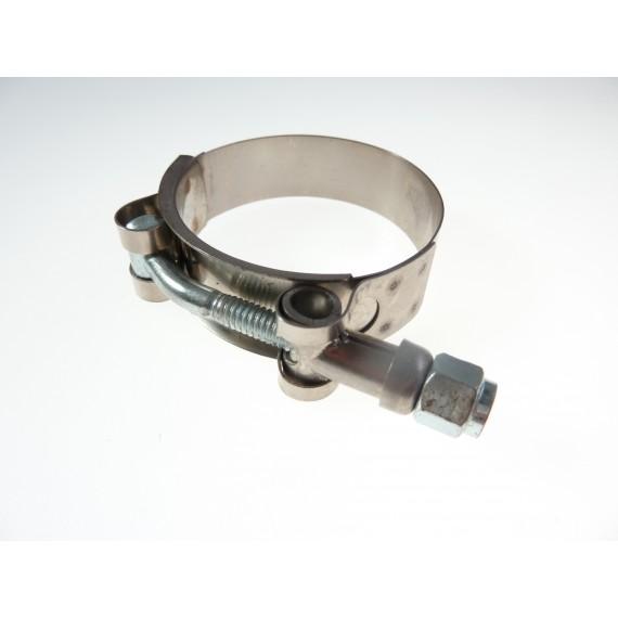 Collier inox W2 renforcé pour diamètre 76mm