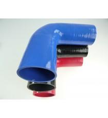 Réducteur 90° diamètre intérieur 65-70mm longueur 125mm silicone VMQ