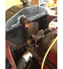 Durite supérieure radiateur eau Massey Harris Pony 820 TM moteur Peugeot 203