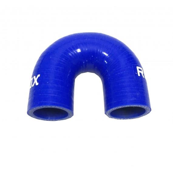 Coude 180° diamètre intérieur 25mm longueur 28mm silicone VMQ