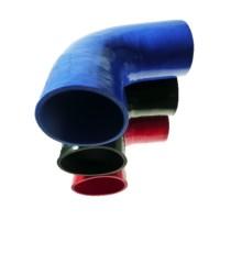 Coude 90° diamètre intérieur 102mm longueur 125mm silicone VMQ