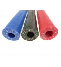 Tuyau diamètre intérieur 8mm longueur 1000mm silicone compatible essence, ethanol E85, diesel, huile