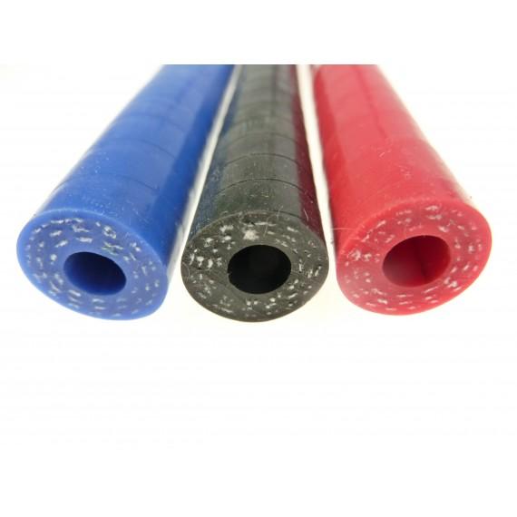 8mm - Durite 1 mètre silicone avec couche interne résistante aux hydrocarbures  - REDOX