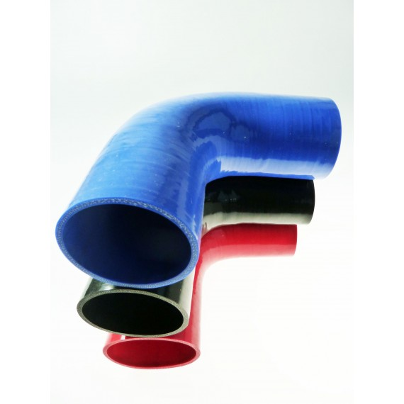 83mm - Coude 90° silicone - REDOX