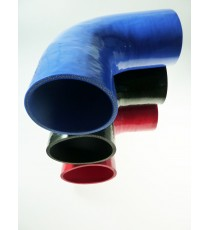 134mm - Coude 90° silicone - REDOX