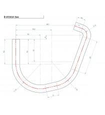 Durite eau silicone REDOX pour navire moteur PEUGEOT SEENERGIE 45cv