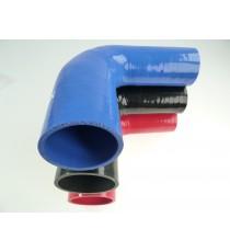 Réducteur 90° diamètre intérieur 60-80mm longueur 125mm silicone VMQ