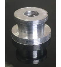Insert aluminium M6x1.5 à souder Longueur 9mm