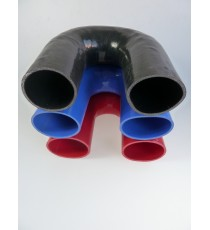 95mm - Coude 180° silicone - REDOX