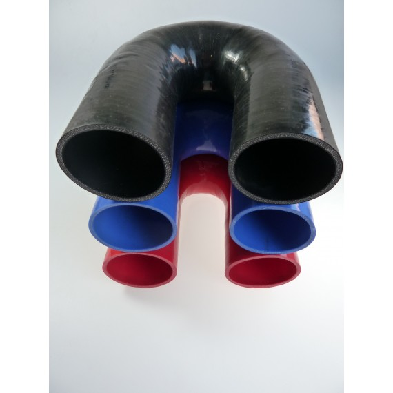 85mm - Coude 180° silicone - REDOX