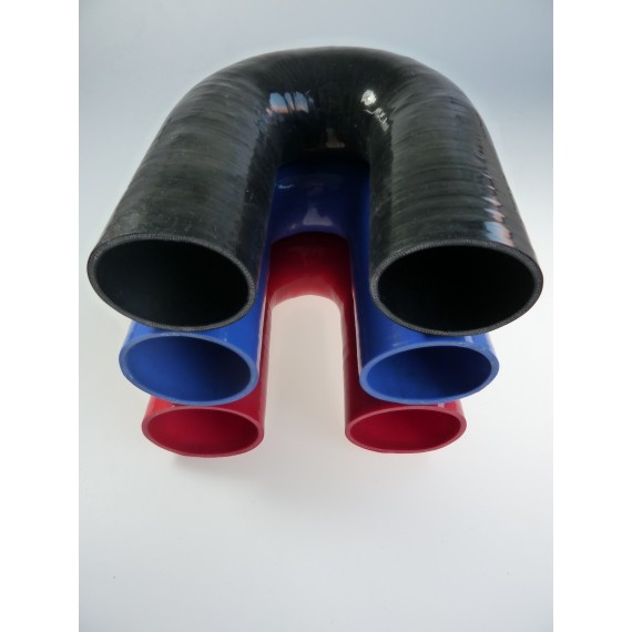 70mm - Coude 180° silicone - REDOX