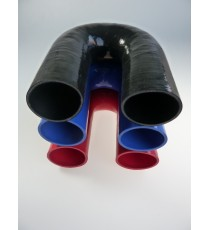 63mm - Coude 180° silicone - REDOX
