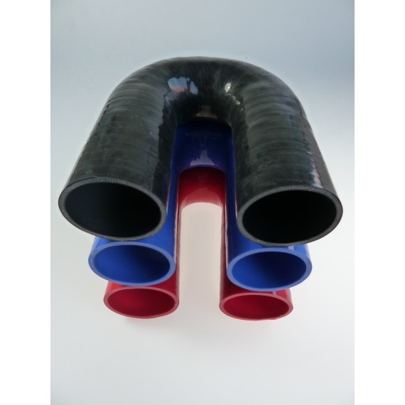 57mm - Coude 180° silicone - REDOX