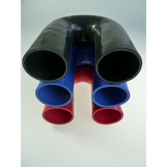 54mm - Coude 180° silicone - REDOX