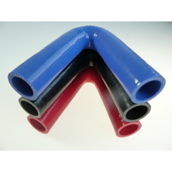 28mm - Coude 135° silicone - REDOX