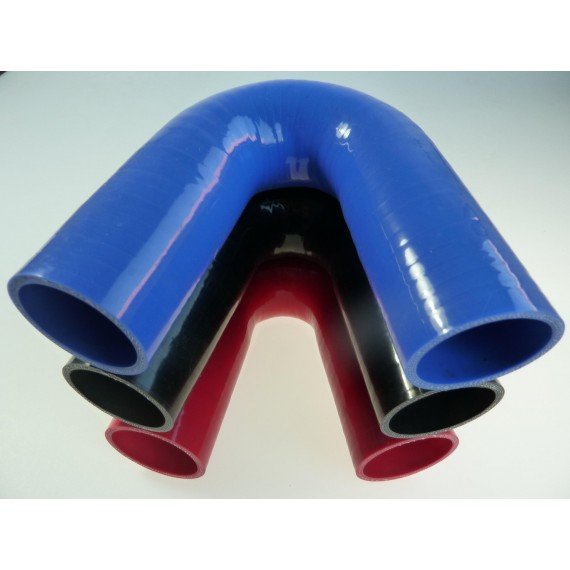 48mm - Coude 135° silicone - REDOX