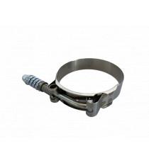 Collier inox renforcé à ressort compensateur 67-75mm