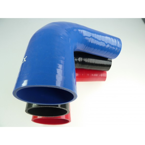 51-76mm - Réducteur 90° silicone - REDOX