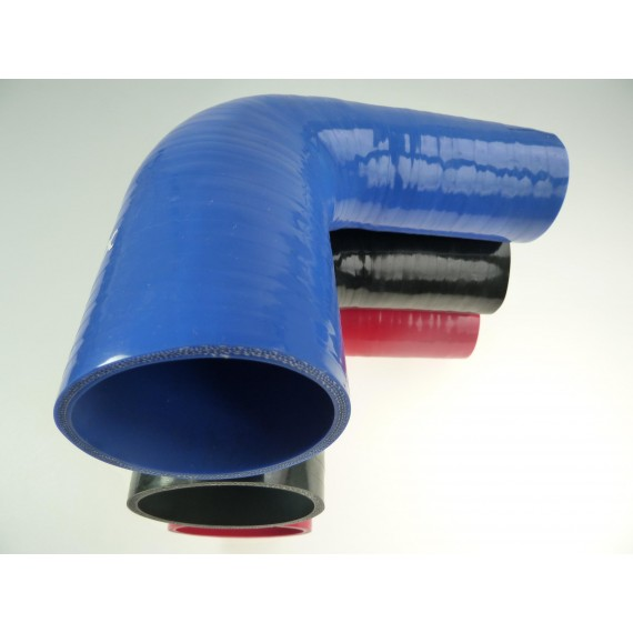 57-76mm - Réducteur 90° silicone - REDOX