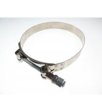 125mm - Colliers de serrage inox renforcé