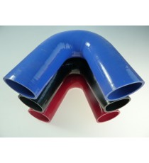 60mm - Coude 135° silicone - REDOX