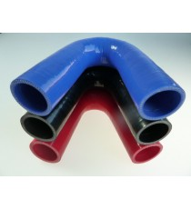 30mm - Coude 135° silicone - REDOX