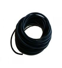 6mm NOIR - Bobine rouleau tuyau de dépression en silicone longueur 20 METRES - REDOX