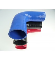 Réducteur 90° diamètre intérieur 42-44mm longueur 200x400mm silicone VMQ
