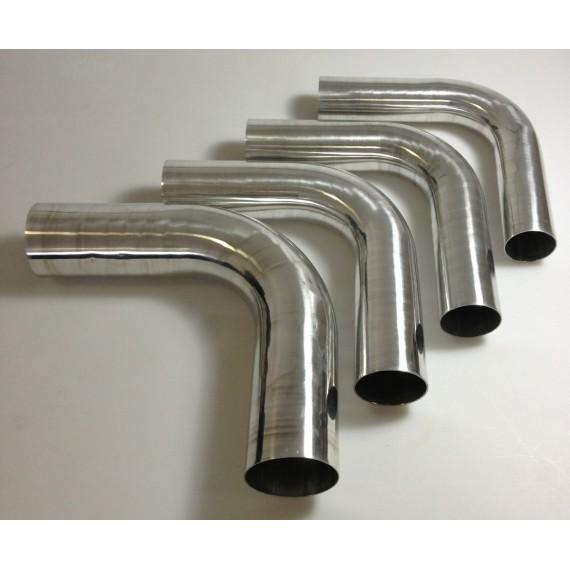 80mm - Coude 90° aluminium - REDOX