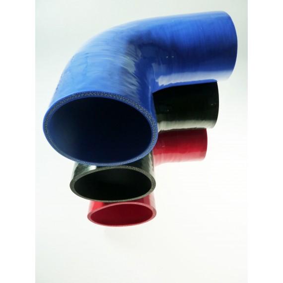 Coude 90° diamètre intérieur 152mm longueur 150mm silicone VMQ